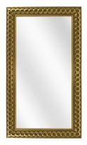 Spiegel met Gevlochten Houten Lijst - Goud - 53 x 153 cm - Lijstbreedte: 30 mm